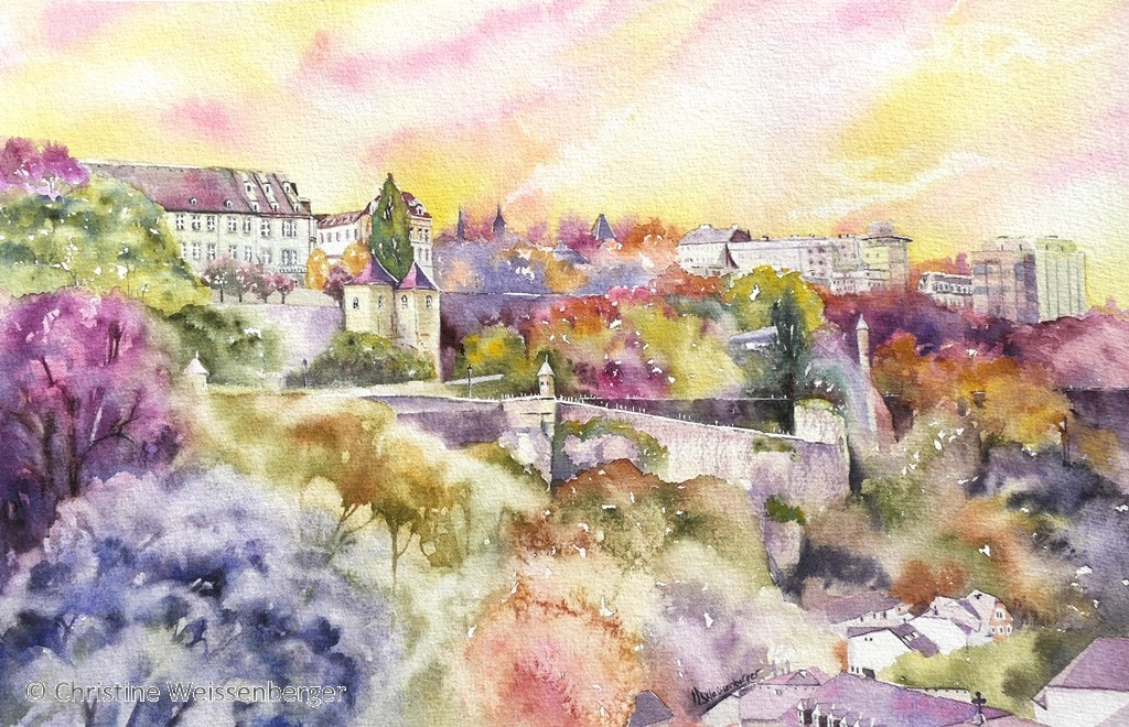 Luxembourg aux couleurs automne