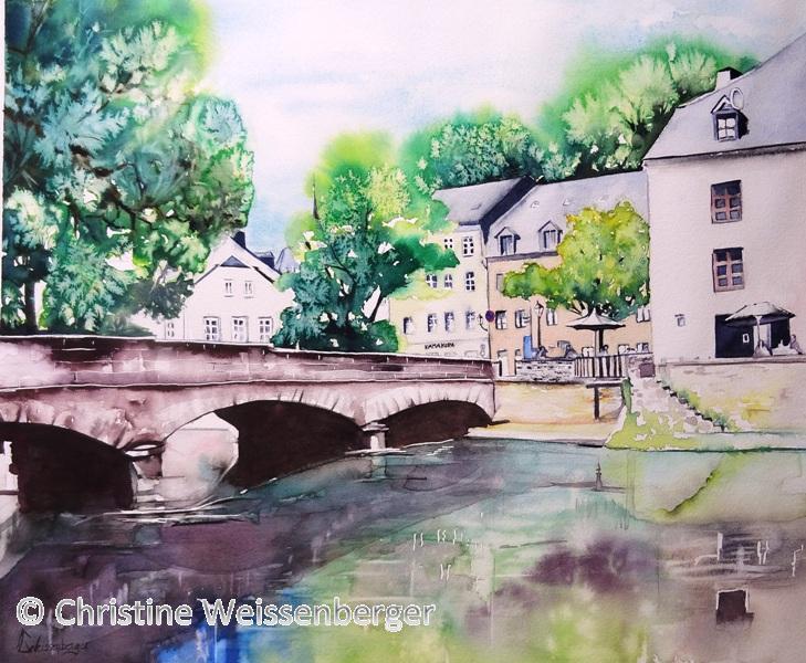 Pont Rue Muenster Grund