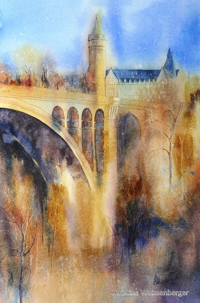 Bâtiment Spuerkeess - Pont Adolphe Luxembourg