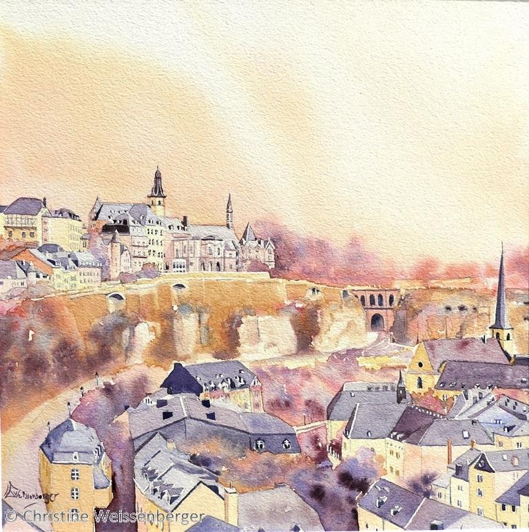 luxembourg ville haute et basse