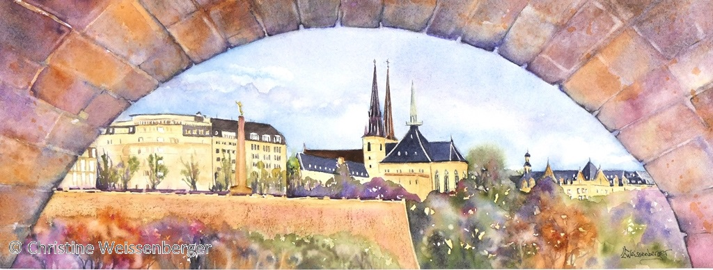 Luxembourg panoramique