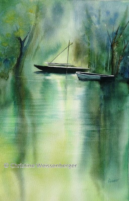 Barques de la Venise verte