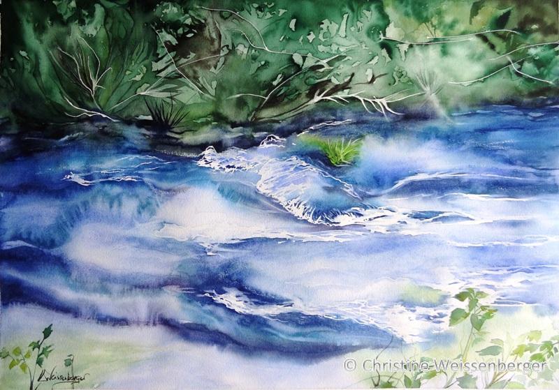 Et coule la rivière