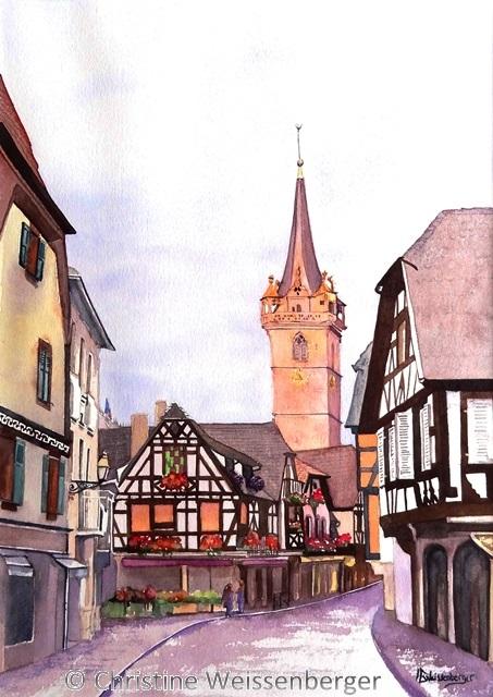 Obernai Kappelturm